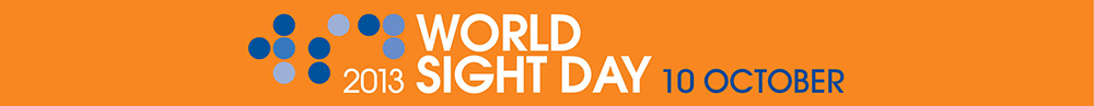 World Sight Day - Thursday 10 October 2013